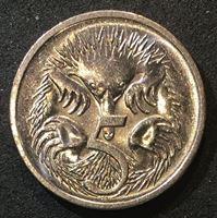 Image de Австралия 1997 г. KM# 80 • 5 центов • Елизавета II • утконос • регулярный выпуск • MS BU ( кат.- $3,00 )