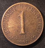 Image de Австрия 1961 г. KM# 2886 • 1 шиллинг • регулярный выпуск • XF+