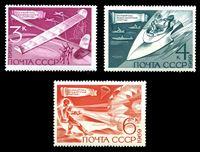 Bild von СССР 1969 г. Сол# 3837-9 • Технические виды спорта • MNH OG XF • полн. серия
