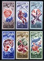 Изображение СССР 1977 г. Сол# 4752-7 • XX лет космической эры • MNH OG XF • полн. серия