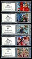 Изображение СССР 1978 г. Сол# 4874-8 • художник К. С. Петров-Водкин • 100 лет со дня рождения • MNH OG XF+ • полн. серия