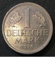 Picture of Германия ФРГ 1976 г. • G (Карлсруэ) KM# 110 • 1 марка • регулярный выпуск • AU