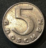 Image de Австрия 1931 г. KM# 2846 • 5 грошей • регулярный выпуск • AU