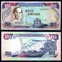 Bild von Ямайка 2004 г. P# 83b • 50 долларов • Пляж Доктор-Кейв • регулярный выпуск • UNC пресс