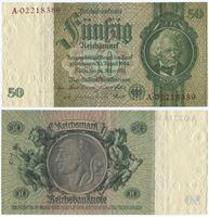 Bild von Германия 1933 г. P# 182 • 50 рейхсмарок • AU+