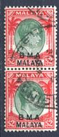 Picture of Малайя Британская Администрация 1945-58 гг. Gb# 16 • 2 $ • Георг VI • стандарт • Used XF • пара