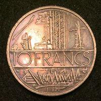 Bild von Франция 1979 г. KM# 940 • 10 франков • регулярный выпуск • MS BU