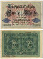 Bild von Германия 1914 г. P# 49 • 50 марок • XF-AU