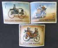 Bild von Сан-Марино 1962 г. SC# 784-706 • Старые автомобили • MNH OG XF+