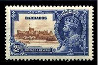 Изображение Барбадос 1935 г. Gb# 243 • 2 ½ d. • Виндзорский замок • MNH OG XF ( кат.- £3 )