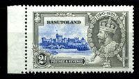 Изображение Басутоленд 1935 г. Gb# 12 • 2 d. • 25 лет правления Георга V • Виндзорский замок • MLH OG XF+ ( кат.- £1 )