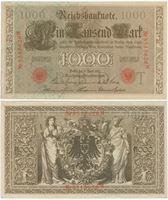 Bild von Германия 1910 г. P# 44 • 1000 марок • AU-UNC пресс