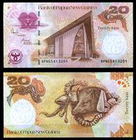 Picture of Папуа-Новая Гвинея 2008 г. P# 36 • 20 кин • 35-летие Национального Банка • памятный выпуск • UNC пресс