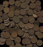 Image de США 1919 - 1958 гг. • KM# 132,132A • 1 цент • набор 40 монет (все разные года и дворы) • Авраам Линкольн • регулярный выпуск • VG-AU