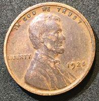 Picture of США 1925 г. • KM# 132 • 1 цент • Авраам Линкольн • регулярный выпуск • VF