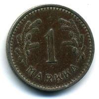 Изображение Финляндия 1937 г. • KM# 30 • 1 марка • регулярный выпуск • VF+