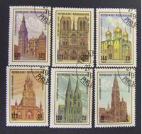 Picture of Мадагаскар 1994 г. SC# 1758-1763 • Соборы • Used(ФГ) XF+