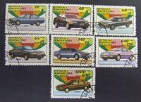 Bild von Мадагаскар 1993 г. SC# 1457-1463 • Легковые автомобили • Used(ФГ) XF+