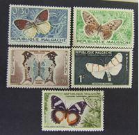 Image de Мадагаскар 1960 г. SC# 488-462 • Бабочки • Mint/Used XF+