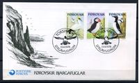 Image de Фарерские о-ва 1978 г. SC# 36-8 • Морские птицы • Used(ФГ) XF • полн. серия • КПД