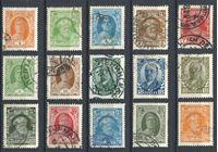 Изображение СССР 1927-28 гг. Сол# 281-95 • стандарт • Used VF • полн. серия