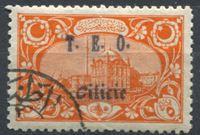 """Изображение Турция 1919 г. SC# 79 • 5 pa. • надпечатка """"T.E.O. Cilicie"""" • Used(ФГ) XF"""