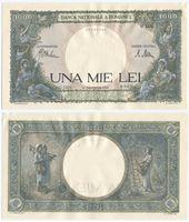 Изображение Румыния 1941 г. P# 052a • 1000 лей • AU-UNC пресс