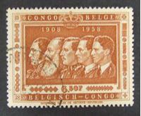 Изображение Бельгийское Конго 1958 г. SC# 363 • 50 лет колонии Конго • Used XF