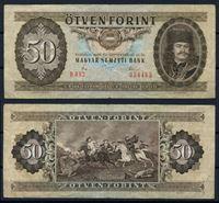 Изображение Венгрия 1980 г. P# 170d • 50 форинтов • Князь Трансильвании Ференц II Ракоци • регулярный выпуск • VF-