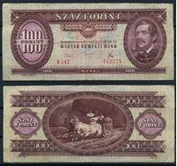 Изображение Венгрия 1975 г. P# 171e • 100 форинтов • Лайош Кошут • регулярный выпуск • VF