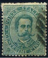 Изображение Италия 1879 г. SC# 45 • 5 c. • Умберто I • Used XF