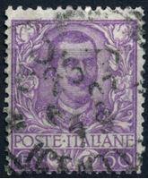 Изображение Италия 1901-26 гг. SC# 85 • 50 c. • Король Виктор Эммануил II • Used XF ( кат.- $16 )