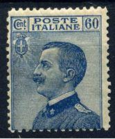 Изображение Италия 1908-27 гг. SC# 108 • 60 c. • Король Виктор Эммануил II • MH OG VF