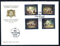 Bild von Мальта 1978 г. SC# 526-9 • 3 - 25 c. • Фламандская живопись • Used(СГ) XF • полн. серия • КПД