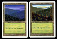 Image de MTG (США)  • 1997 г. • Forest • 2 дизайна • AU