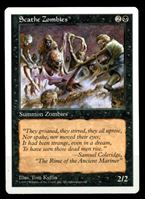 Picture of MTG (США)  • 1997 г. • Scathe Zombie • 2/2 • AU