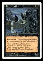 Изображение MTG (США)  • 1997 г. • Bog Wraith • 3/3 • AU