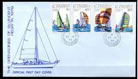 Изображение Сент-Винсент и Гренадины 1979 г. SC# 166-9 • 5 с. - 2$ • Ежегодная регата • парусные яхты • Used(СГ) XF • КПД