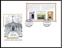 Image de Маврикий 1979 г. SC# 482a • Беатификация отца Лаваля • Used(СГ) XF • блок • КПД
