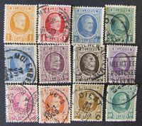 Изображение Бельгия 1926 г. Mi# • Король Альберт Первый. 12 марок • Used XF ( кат.- €5 )