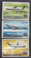 Изображение Бурунди 1967 г. SC# 378-380 • Открытие аэропорта в Бужумбуре. Авиапочта • Used(ФГ) XF+