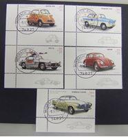 Image de Германия ФРГ 2002 г. Mi# 2289-2293 • Старые автомобили • Used(ФГ) XF+ ( кат.- €11 )