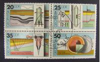 Image de ГДР 1980 г. Mi# 2557-2560 • Геофизика • Used(ФГ) XF+ ( кат.- €3 )