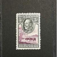 Изображение Бечуаналенд 1932 г. Gb# 108 • 3 шиллинга • MLH OG ( кат.- £50 )