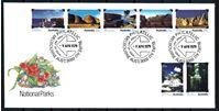 Изображение Австралия 1979 г. SC# 700-6 • 20 с.(7) • Национальные парки • Used(СГ) XF • полн. серия • КПД