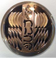 Изображение США 1984 г. • Ханука • еврейские символы • медаль • MS BU люкс! • пруф