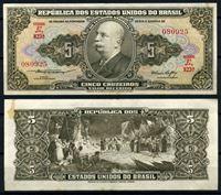 Bild von Бразилия 1953-1959 гг. P# 158a • 5 крузейро • барон Рио-Бранко • регулярный выпуск • AU
