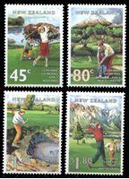 Изображение Новая Зеландия 1995 г. SC# 1255-8 • 45 c. - 1.80$ • Развитие спорта • гольф • MNH OG XF • полн. серия ( кат.- $7 )