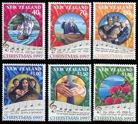 Изображение Новая Зеландия 1997 г. SC# 1452-7 • 40 c. - 1.80$ • Рождество • MNH OG XF • полн. серия ( кат.- $10 )