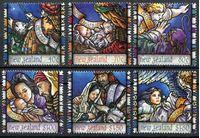 Изображение Новая Зеландия 1996 г. SC# 1385-90 • 40 c. - 1.80$ • Рождество • MNH OG XF • полн. серия ( кат.- $10 )